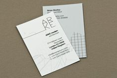 architect name card - Google Search
