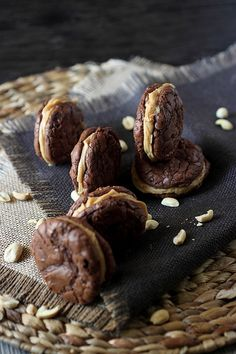 http://www.mind-over-batter.com/sweet-situations/peanut-butter-brownie-sandwich-cookies/