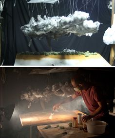 Strange Miniature Worlds of Cotton, Sugar and Spice by Matthew Albanese