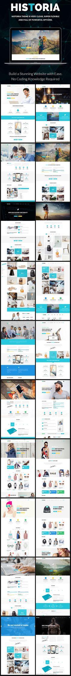 Historia is beautifully design versatile @WordPress #theme for stunning #startups #website with multipurpose 20+ homepage layouts download now➩ https://themeforest.net/item/historia-responsive-multipurpose-wordpress-theme/16854647?ref=Datasata