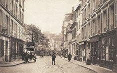 rue d'Auteuil - Paris 16ème Past Life, Paris France, Vintage Photos, 19th Century, Empire, Images, Street View, City, Rues