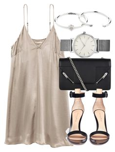 """""""Untitled #6414"""" by laurenmboot ❤ liked on Polyvore featuring Yves Saint Laurent, Gianvito Rossi and Zimmermann"""
