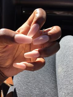 Dark hands light coffin nails impeccable imperfections
