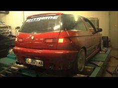 Alfa Romeo 145 2.0 Turbo 4x4 Extreme Service - YouTube
