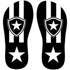 Estampa para chinelo Botafogo 001384