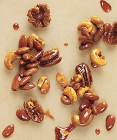 Easy Candied Nuts recipe: The nuts can be prepared and stored at room temperature in an airtight container for up to 2 weeks.