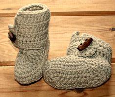 Crochet baby booties newborn 03 months Baby by crochetyknitsnbits, £15.99