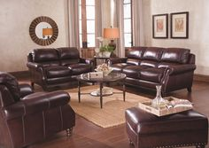 Simon Li Created This Classic Beauty To Fit Any Home Decor With A Deep  Cinnamon Color · Royal FurnitureDark ...