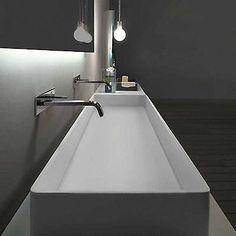 design waschtisch aufsatzwaschbecken mineralwerkstoff hi macskerrockcorian - Luxus Hausrenovierung Doppel Waschbecken Design