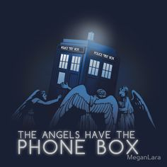 """""""The Angels Have the Phone Box"""" T-Shirts & Hoodies by MeganLara   Redbubble"""