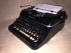 Schreibmaschine Optima Elite um 1954 vintage mechanical typewriter