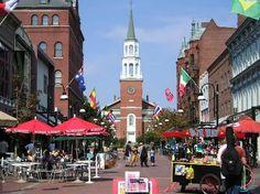 Burlington, Vermont - downtown