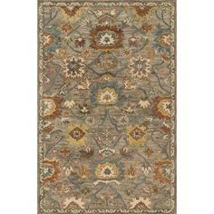 Found it at Joss & Main - Loren Rug in Taupe & Blue