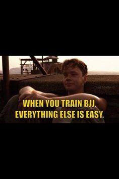 When you train BJJ...
