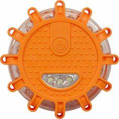 Flashing Roadside Emergency Disc, LED Flare