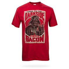 ThinkGeek :: Come To The Dark Side We Have Bacon
