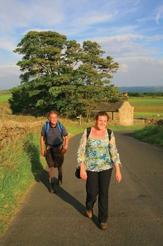 Walking to Once Brewed, Hadrian's Wall