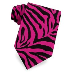 Zebra Animal Print Tie by Wild Ties