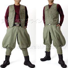 Toraichi 4441-611 Vest              4441-401 Toraichi-7bu pants