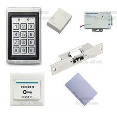 178.00$  Watch here - http://alii3d.worldwells.pw/go.php?t=32626799668 - ACSS16 Rainproof ID Reader keypad Door Access Control System Kit Electric Strike Lock+ Power Supply+Switch