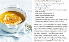 Roasted Pumpkin, Feta & Nutmeg Soup  ____    https://www.donnahay.com.au/recipes/fast-weeknights/roasted-pumpkin-feta-and-nutmeg-soup