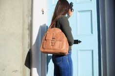 Tan Leather Handbags, Tan Handbags, Luxury Handbags, Leather Crossbody Bag, Leather Bag, You Bag, Leather Handle, My Bags, Sling Backpack