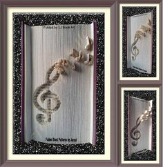 2333 Treble Clef No. of Pages: 383 Book Height (cm): 21 Method: Cut & Fold Raised Invert Pattern Listing is for Book Fold Pattern ONLY Any Flowers and decoration is for show and inspiration Pattern PDF Instant Download Instructions included in PDF Download All my patterns have