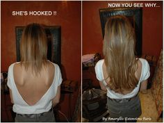 She's Hook, and now you see why !!! Amazing Hair Extensions. extensions cheveux By Amaryllis http://www.amaryllisextensionscheveux.com