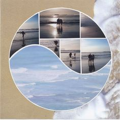 "Lea France – Photo Collage ""Harmony' Stencil"