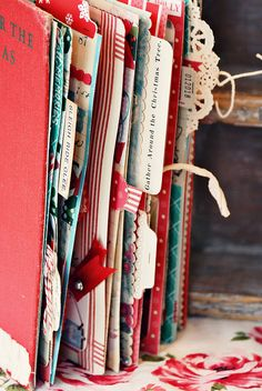 use an old book as a base-- I want to do this! Love the pullout for any mini book or Smashbook!!!