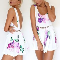 Perfect Spring Summer short romper Perfect floral print Spring Summer short romper Other