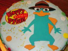 Plumeria Cake Studio: Phineas and Ferb Birthday Cake