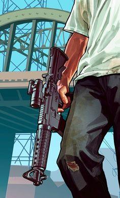 #gta #art #guns #grandtheftauto5