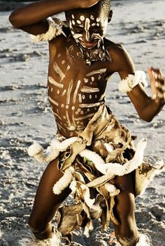 Boy dancing in Cape Town, South Africa, photograph by Milan Josipovic