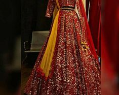 Copper Bridal lehenga copper wedding dresse wedding lehenga latest indian fashion lehenga Upon order confirmation, we will send you a measurement chart/ Form which you will need to fill in inches ,so that it can made to your size Wedding Dress Types, Red Wedding Dresses, Indian Wedding Outfits, Indian Outfits, Wedding Attire, Anarkali Lehenga, Bridal Lehenga, Bridal Gowns, Tamil Wedding