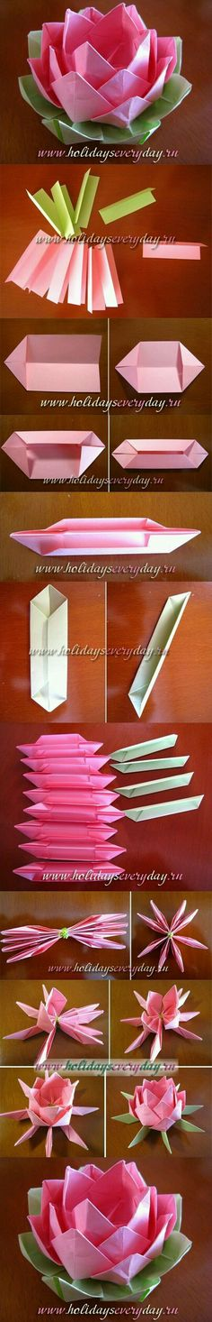 How to create Origami Flowers. How to create Origami Flowers. The post How to create Origami Flowers. appeared first on Easy flowers. Origami And Kirigami, Origami Paper, Diy Paper, Paper Crafting, Oragami, Kids Origami, Origami Dress, Dollar Origami, Easy Origami