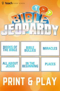Sunday School Activities, Bible Activities, Sunday School Crafts, Youth Sunday School Lessons, Church Activities, Bible Study For Kids, Bible Lessons For Kids, Bible Games For Youth, Bible School Games
