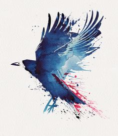 Bloody Crow  by Robert Farkas