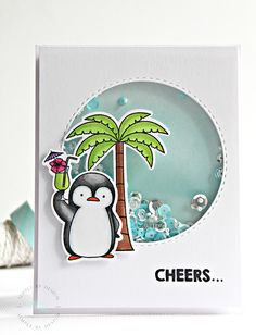 MFT Penguins | Cheers! | 16 Simple By Design by Joy Taylor
