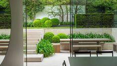 James Aldridge Landscape and Garden Design Garden Landscape Design, Garden Landscaping, Outdoor Furniture Sets, Outdoor Decor, Amazing Gardens, Garden Inspiration, Home And Garden, Modern, Plants