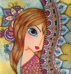 Pichwai Paintings, Indian Art Paintings, Mandala Drawing, Mandala Art, Pop Art, Doodle Art Designs, Cubism Art, Art Drawings For Kids, Whimsical Art