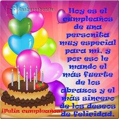 happy birthday cakes and balloons images Birthday Qoutes, Happy Birthday Greetings Friends, Happy Birthday Ecard, Wish You Happy Birthday, Happy Brithday, Happy Birthday Wishes Cards, Birthday Blessings, Happy Birthday Balloons, Happy Birthday Cakes