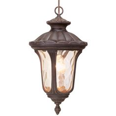 Livex Lighting Oxford 1 Light Outdoor Hanging Lantern