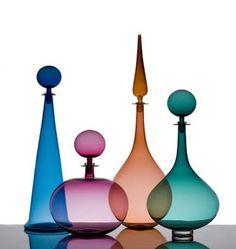 Arren Williams Design Lab :  LA-based glass blower and designer Joe Cariati.
