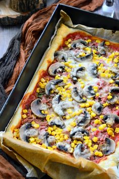 Son-go-ku pite Go Ku, Hawaiian Pizza, Mozzarella, Vegetable Pizza, Vegetables, Fungi, Food, Drink, Recipes