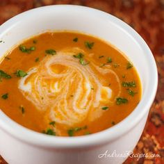 Carrot Ginger Soup - Andrea Meyers