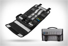 These Roll-Up GoPro Cases Hold Three Cameras, Mounts and Poles #camping trendhunter.com