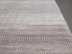 Fine contemporary Bamboo silk rug - Gallery Yacou