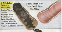 You Have About 20 Pounds Of Poison In Your Colon. Here is What You Can Do