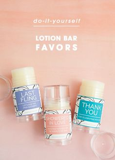 Learn How To Make Adorable Push Pop Lotion Bar Favors